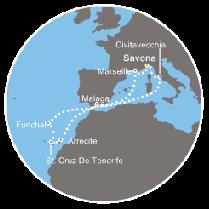 Costa PACIFICA 22 april 2018